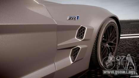 Chevrolet Corvette ZR1 2009 v1.2 para GTA 4 interior