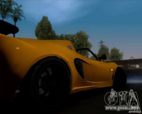 Lotus Exige para vista inferior GTA San Andreas
