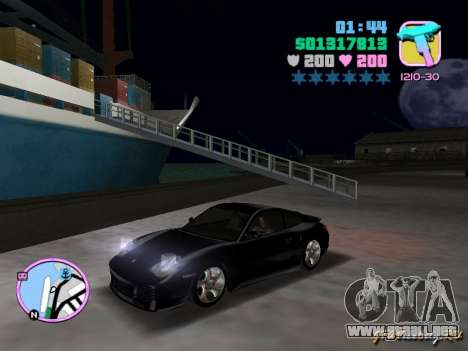 Porsche 911 Twin Turbo para GTA Vice City