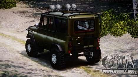 UAZ 31514 comandante v1.0 para GTA 4 Vista posterior izquierda