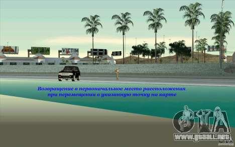 Skorpro Mods Vol.2 para GTA San Andreas segunda pantalla