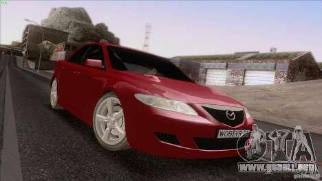 Mazda 6 2006 para vista lateral GTA San Andreas
