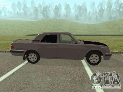 Volga GAZ 31105 restyling para GTA San Andreas left