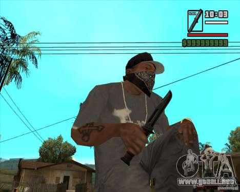 Millenias Weapon Pack para GTA San Andreas sexta pantalla