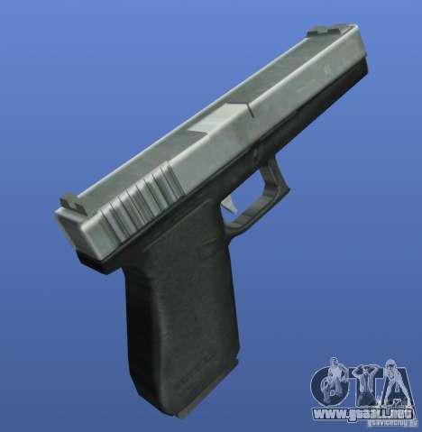 Mega Gun Pack (Chrom) para GTA 4 adelante de pantalla