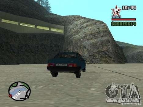 Todas Ruas v3.0 (San Fierro) para GTA San Andreas quinta pantalla