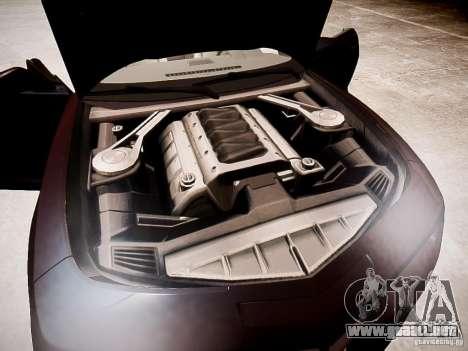 Chevrolet Camaro SS 2010 para GTA 4 vista interior