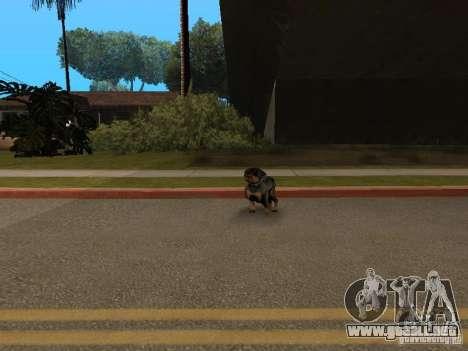 Animales para GTA San Andreas quinta pantalla