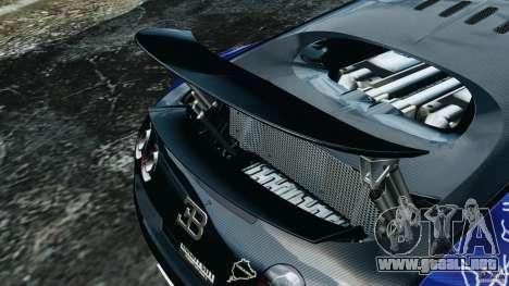 Bugatti Veyron 16.4 Super Sport 2011 v1.0 [EPM] para GTA 4 interior