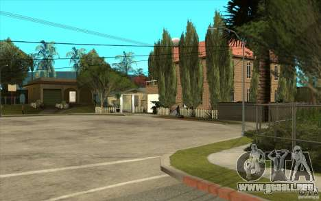 New Grove Street TADO edition para GTA San Andreas sucesivamente de pantalla
