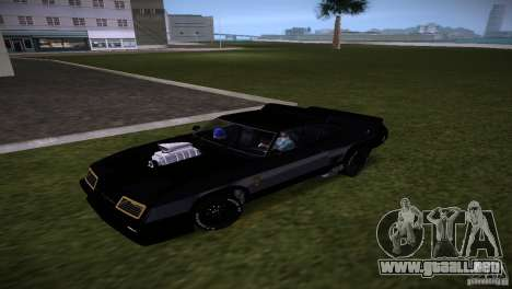 Ford Falcon GT Pursuit Special V8 Interceptor 79 para GTA Vice City left