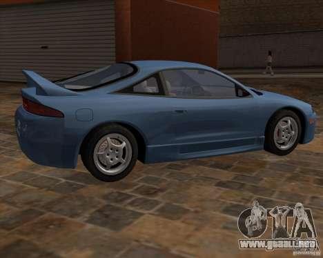 Mitsubishi Eclipse GST de NFS Carbon para la visión correcta GTA San Andreas