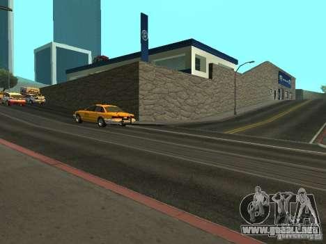 Ford Auto Show para GTA San Andreas tercera pantalla