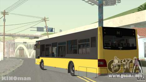 MAN Lion City para GTA San Andreas left