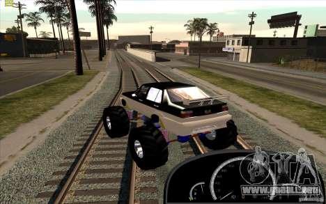 Jetta Monster Truck para GTA San Andreas left