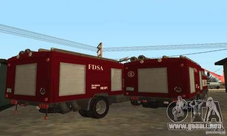 IFA fuego para la visión correcta GTA San Andreas