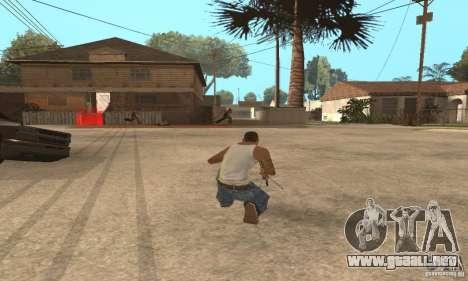 Intervenšn de Call Of Duty Modern Warfare 2 para GTA San Andreas tercera pantalla