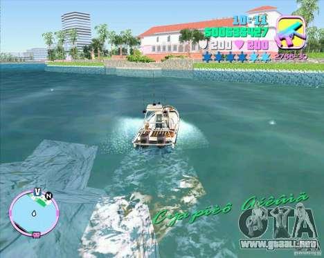 ENB Series for GTA ViceCity v2 para GTA Vice City sucesivamente de pantalla