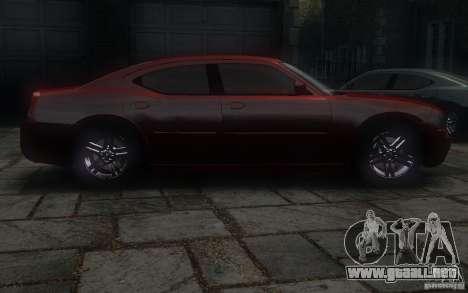 Dodge Charger RT Hemi 2008 para GTA 4 vista interior