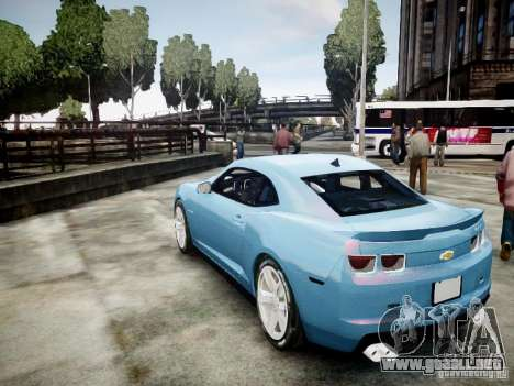 Chevrolet Camaro ZL1 para GTA 4 left