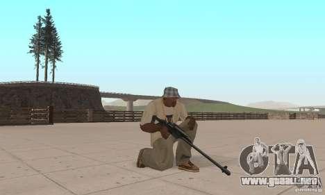 Pack armas de Star Wars para GTA San Andreas sucesivamente de pantalla