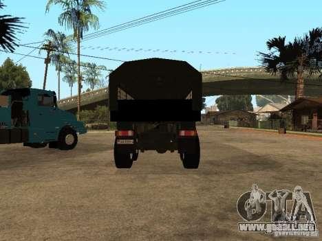 KAMAZ-4355 para visión interna GTA San Andreas