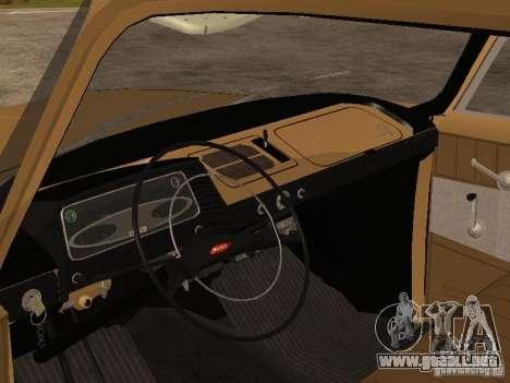 Moskvitch 408 Elite para la visión correcta GTA San Andreas