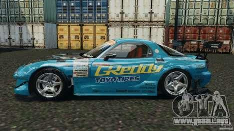 Mazda RX-7 RE-Amemiya v2 para GTA 4 left