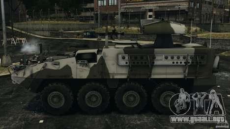 Stryker M1134 ATGM v1.0 para GTA 4 left