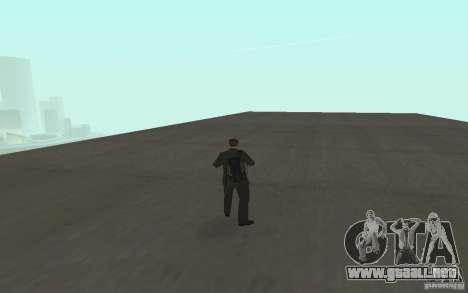 Animación de GTA IV v 2.0 para GTA San Andreas novena de pantalla