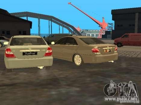 Toyota Camry 2003 para visión interna GTA San Andreas