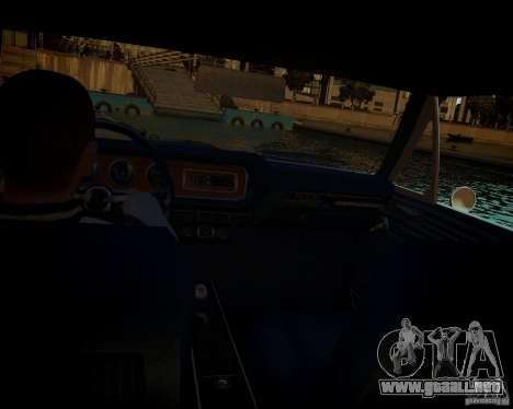 Pontiac GTO DF para GTA 4 vista desde abajo