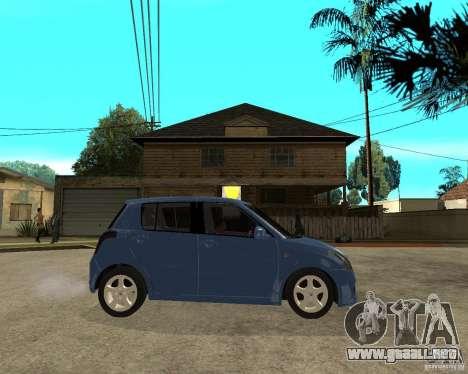 2007 Suzuki Swift para la visión correcta GTA San Andreas