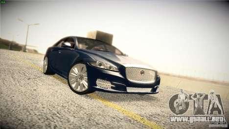 Jaguar XJ 2010 V1.0 para vista inferior GTA San Andreas