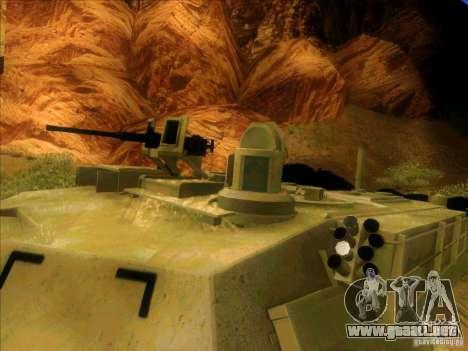 M1A2 Abrams de Battlefield 3 para visión interna GTA San Andreas