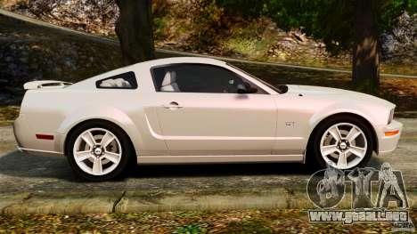 Ford Mustang GT 2005 para GTA 4 left