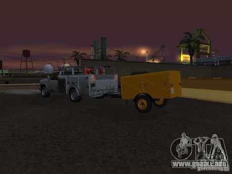 Estación de compresión acoplado para visión interna GTA San Andreas