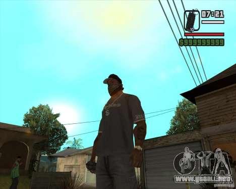 Granada de Xenus 2 para GTA San Andreas segunda pantalla