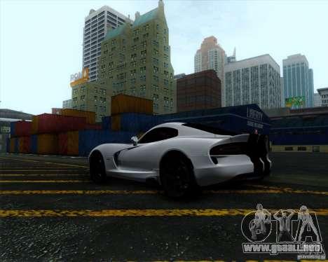 Dodge Viper SRT 2013 para la visión correcta GTA San Andreas