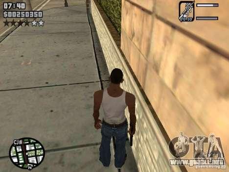 HUD by Neo40131 para GTA San Andreas segunda pantalla