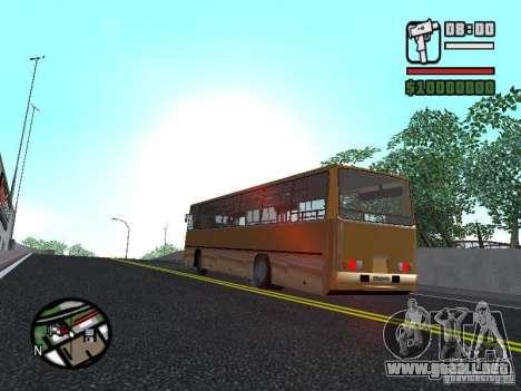 IKARUS 260.37 para visión interna GTA San Andreas