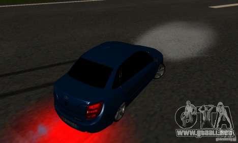 Lada Granta Light Tuning para la vista superior GTA San Andreas