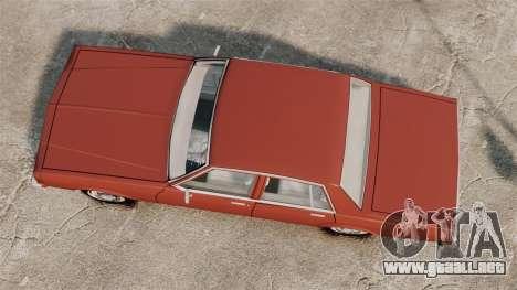 Chevrolet Caprice Classic 1979 para GTA 4 visión correcta