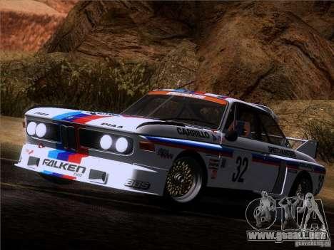 BMW CSL GR4 para vista lateral GTA San Andreas
