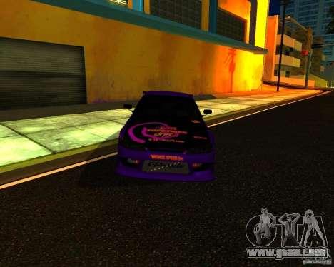 Nissan Silvia C-West para GTA San Andreas left