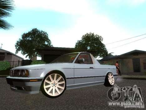 BMW E34 Pickup para GTA San Andreas