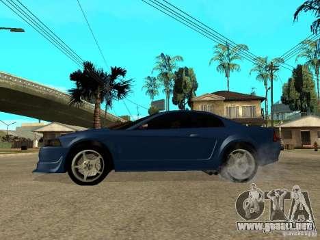 Ford Mustang Cobra R Tuneable para GTA San Andreas left