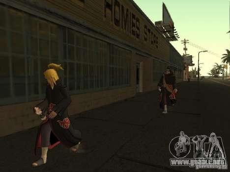 The Akatsuki gang para GTA San Andreas sexta pantalla