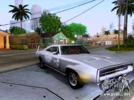 Dodge Charger RT para visión interna GTA San Andreas