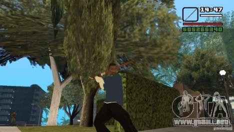 Chatarra para GTA San Andreas tercera pantalla